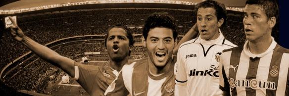 Giovani dos Santos, Carlos Vela, Andrés Guardado, Héctor Moreno