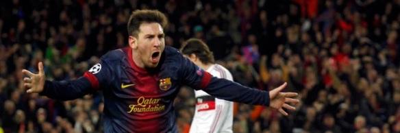 Messi Barcelona Milan gol