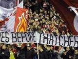 Hillsborough, 'hooligans' yThatcher