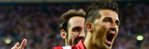 David Villa Atlético de Madrid