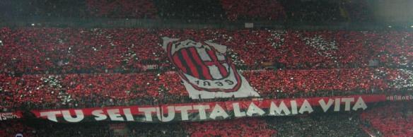 Milan afición