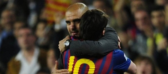 Messi Pep Guardiola