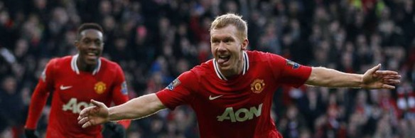 SCHOLES MANCHESTER UNITED