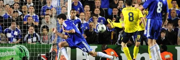 Andrés Iniesta Marca En Stamford Bridge
