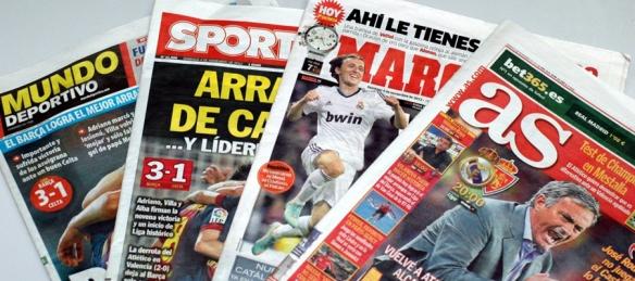 periódicos deportivos españa